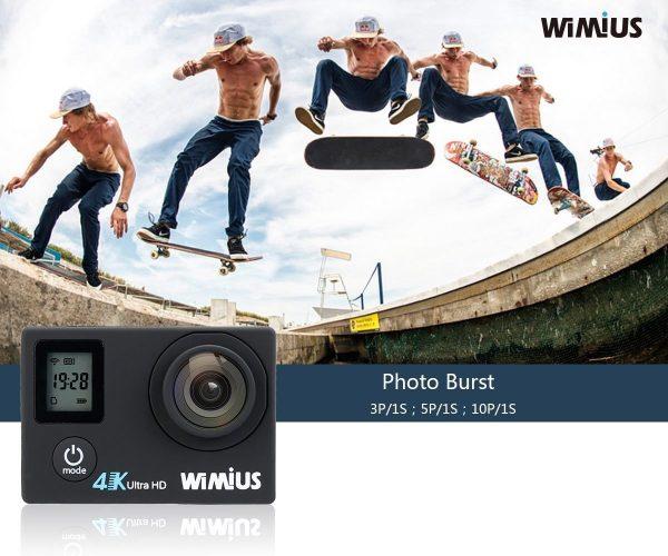 WiMiUS Q4 4K funzioni