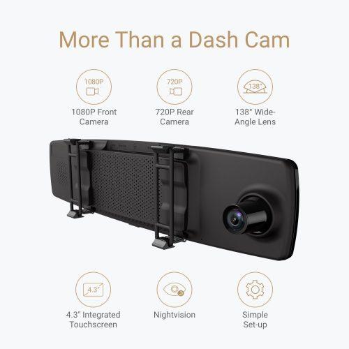 Yi Mirror Dash Camera caratteristiche