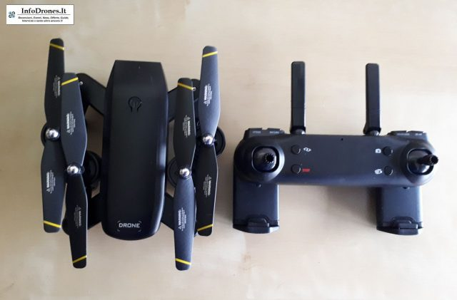 DM IN107S 2.4G Wifi FPVtomtop-selfie drone economico