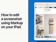 Modificare uno screenshot su Apple iPad