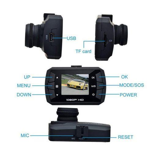 Sansnail mini Dash Cam caratteristiche