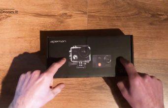 Apeman A77 action cam offerta amazon