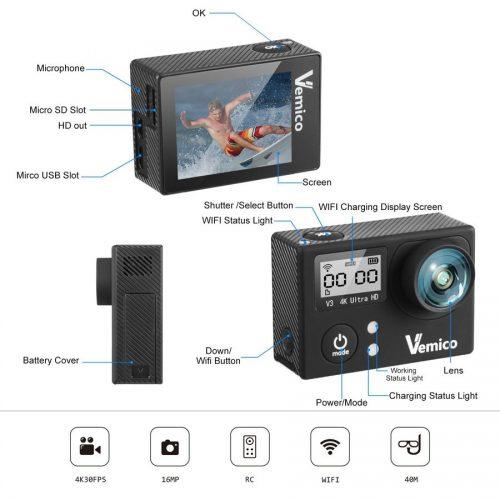 Vemico 4K Pro caratteristiche