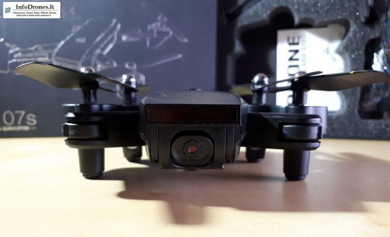 recensione DM IN107S 2.4G Wifi FPV tomtop-selfie drone economico