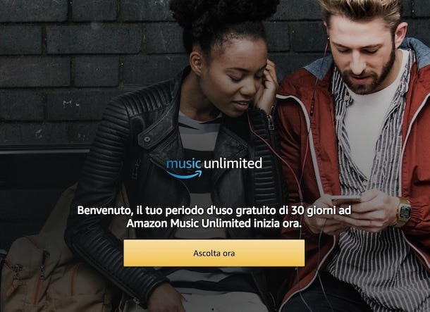 Come iscriversi ad Amazon Music Unlimited