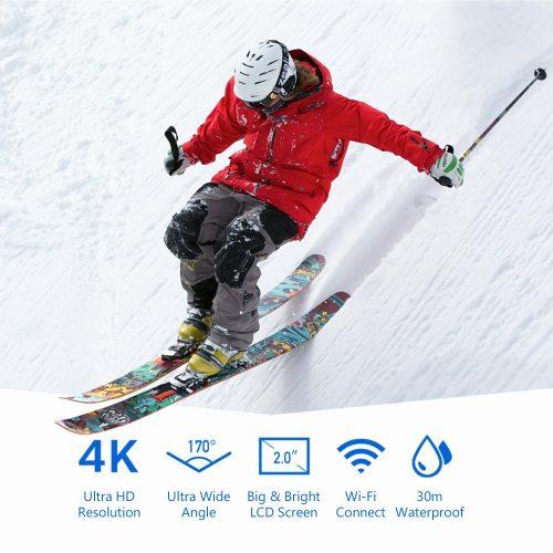 Crosstour 4k 16 MP action camera caratteristiche