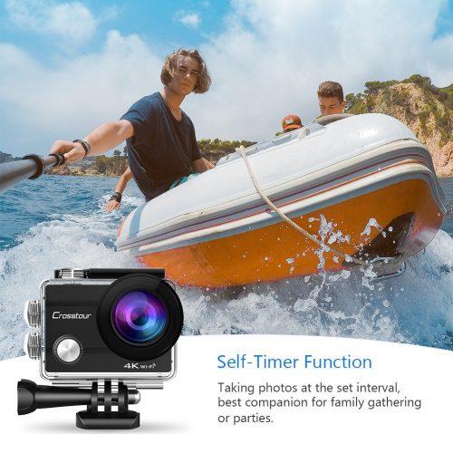 Crosstour 4k 16 MP action camera funzioni