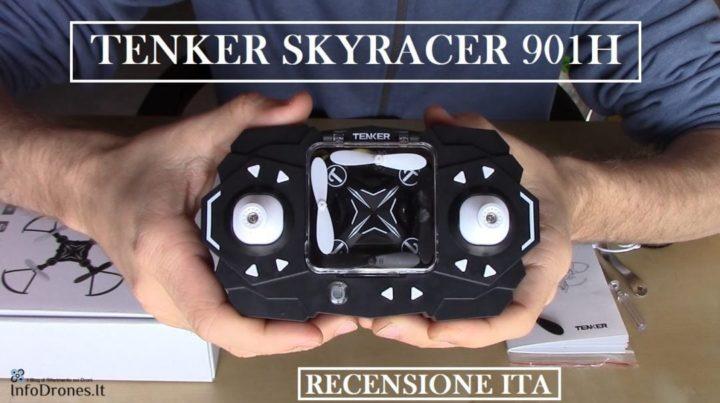 Drone tenker skyracer 901h video recensione
