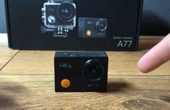 action cam Apeman 4k recensione video