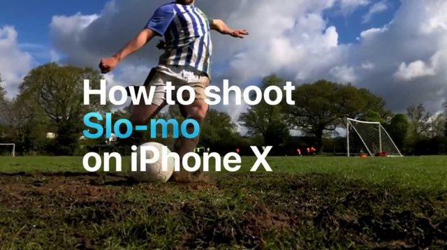 Iphone X Slow Motion