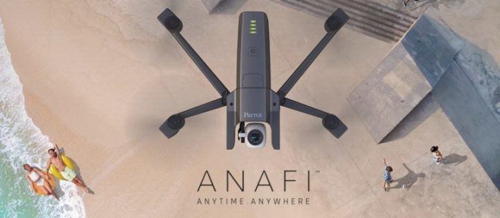 drone parrot anafi