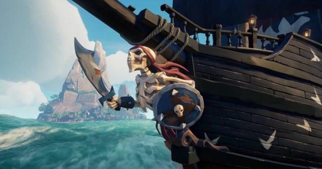 Sea of Thives DLC gratuito