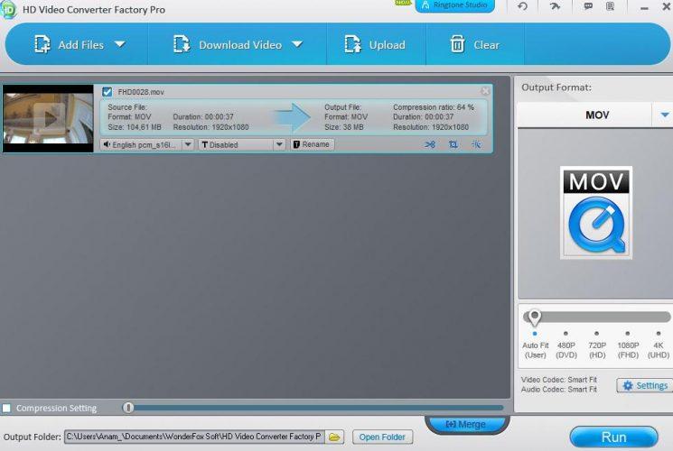 Come usare Programma WonderFox HD 1 passo