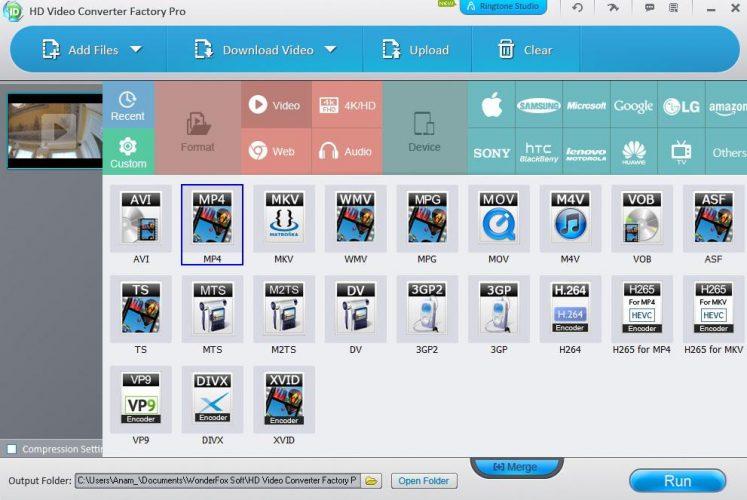Come usare Programma WonderFox HD 2 passo