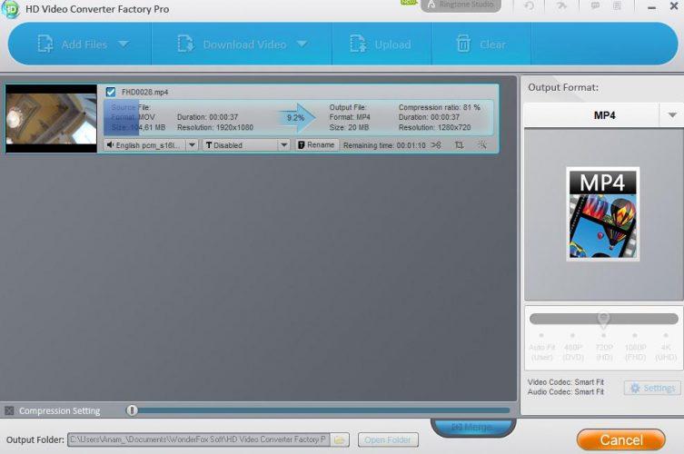 Come usare Programma WonderFox HD finale
