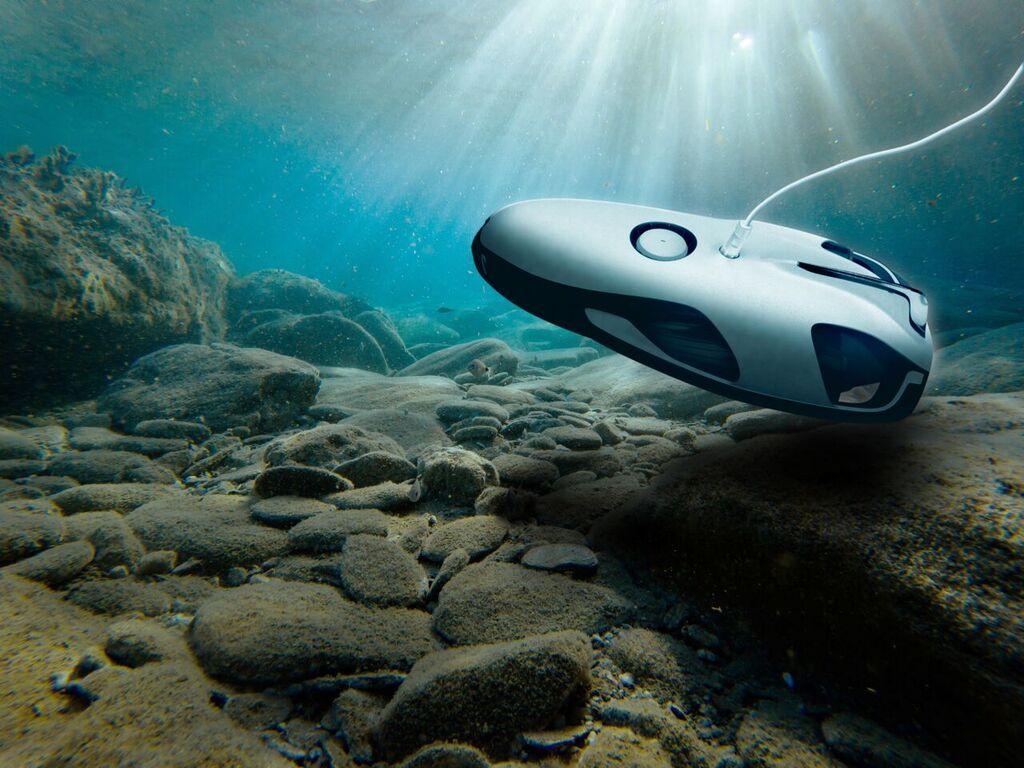 power ray drone subacqueo