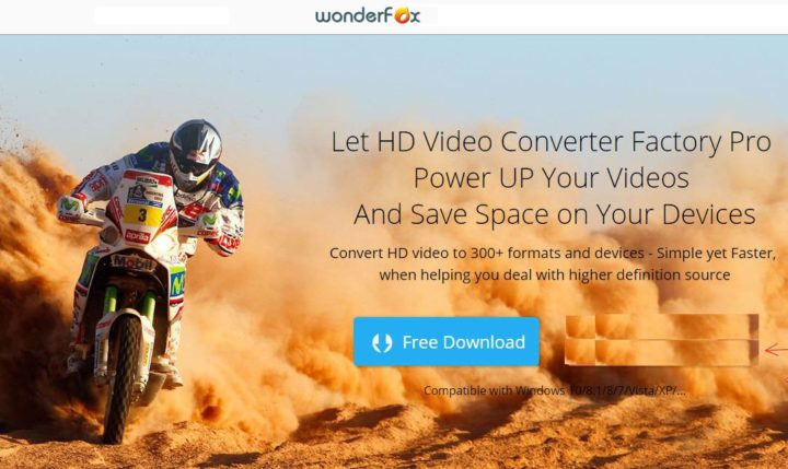 Programma per Convertire Video Gratis WonderFox HD