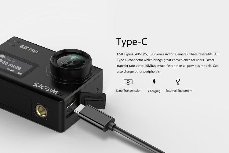 SJCAM SJ8 Pro caratteristiche