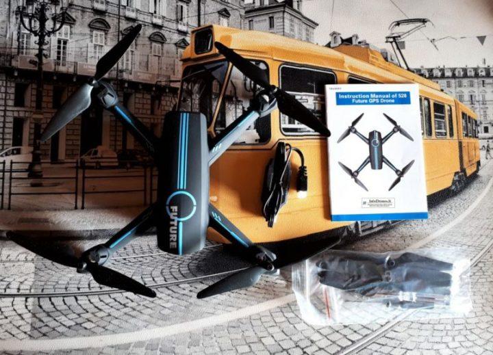 contenuto confezione JXD 528 Future Tomtop