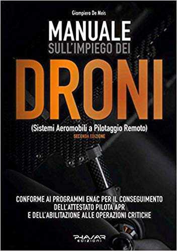 migliori libri sui droni-manuale impiego droni