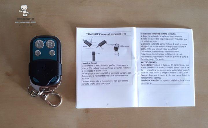 recensione microcamera spia amazon-telecamera nascosta istruzioni
