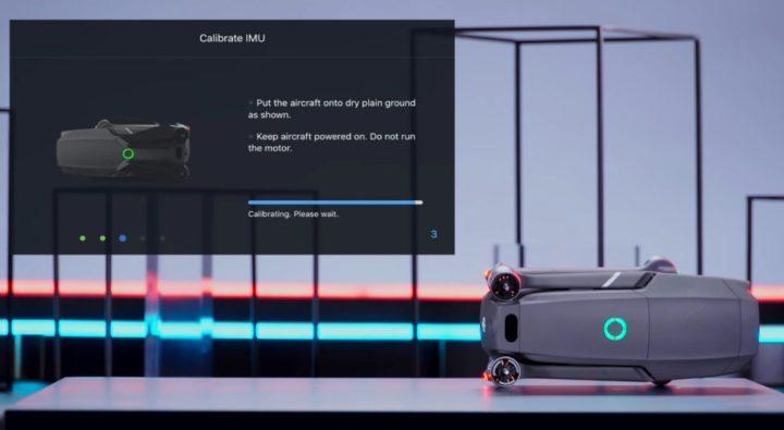 Come calibrare IMU su dji mavic 2 video tutorial