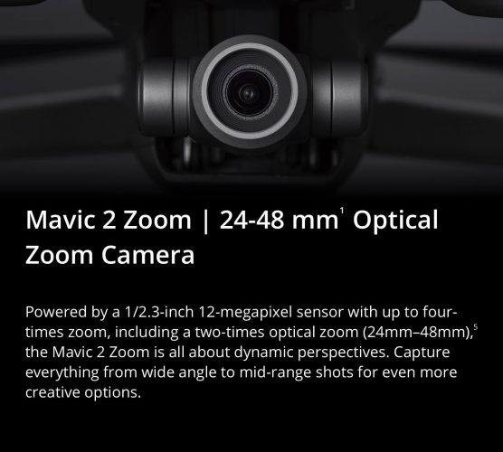 DJI Mavic 2 Zoom caratteristiche