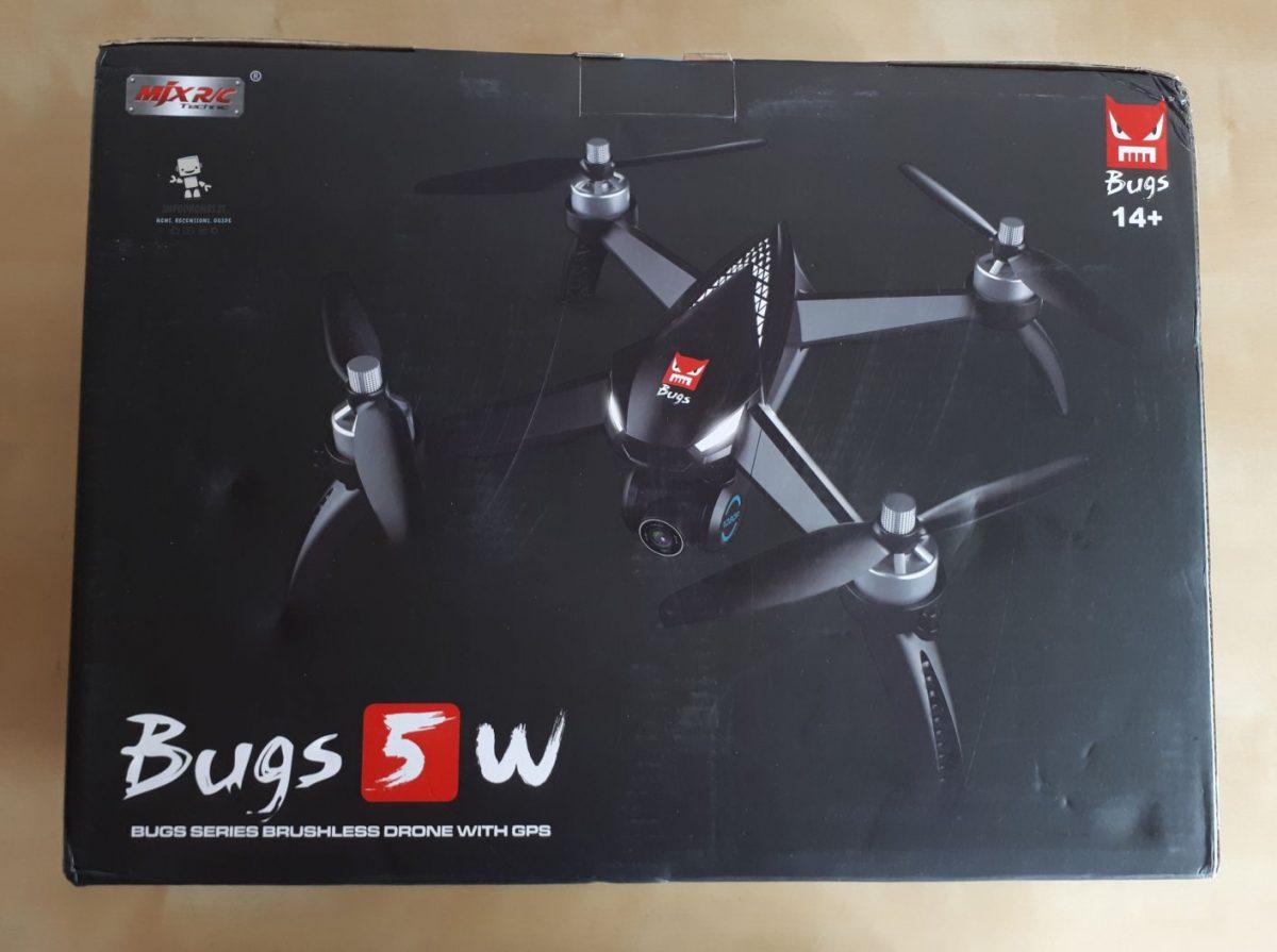 MJX Bugs 5W scatola
