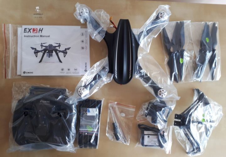 eachine ex2h unboxing