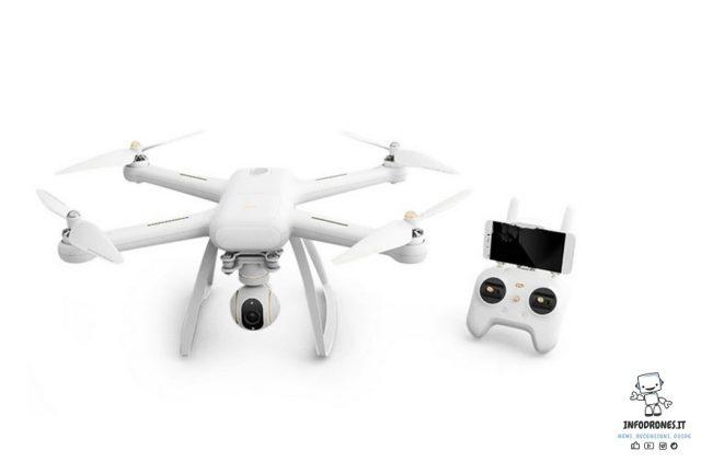 xiaomi mi drone 4k caratteristiche tecniche