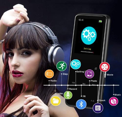 Lettore MP3 Soulcker funzioni