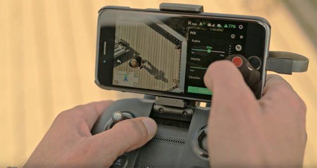 Yuneec Mantis Q Point of Interest video tutorial