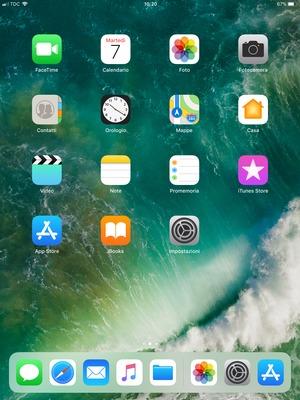 come configurare Kena Mobile su iPad