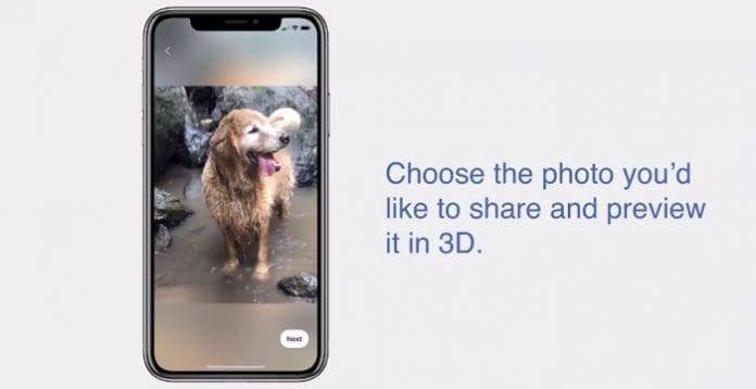 Come fare foto 3D su Facebook