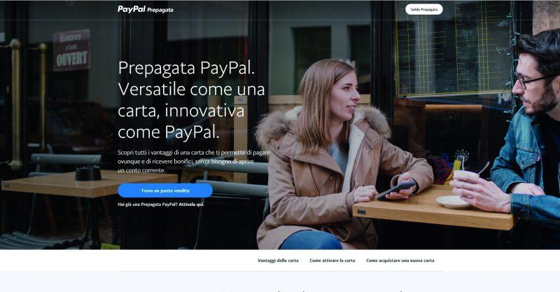 Prepagata PayPal