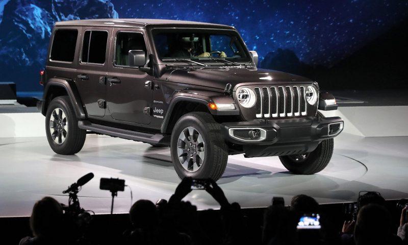 Wrangler Jeep 2018 estetica