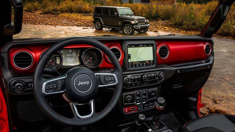 Wrangler Jeep 2018 interni