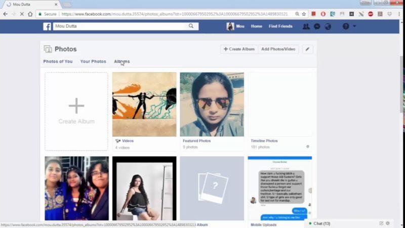 creare album su facebook senza pubblicarlo -2