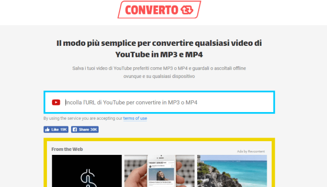 convertitore da youtube in mp3