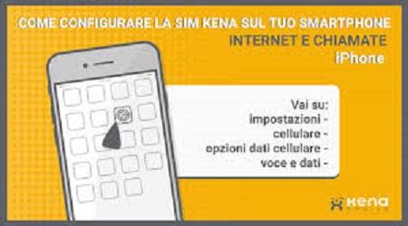 copertura kena mobile in europa