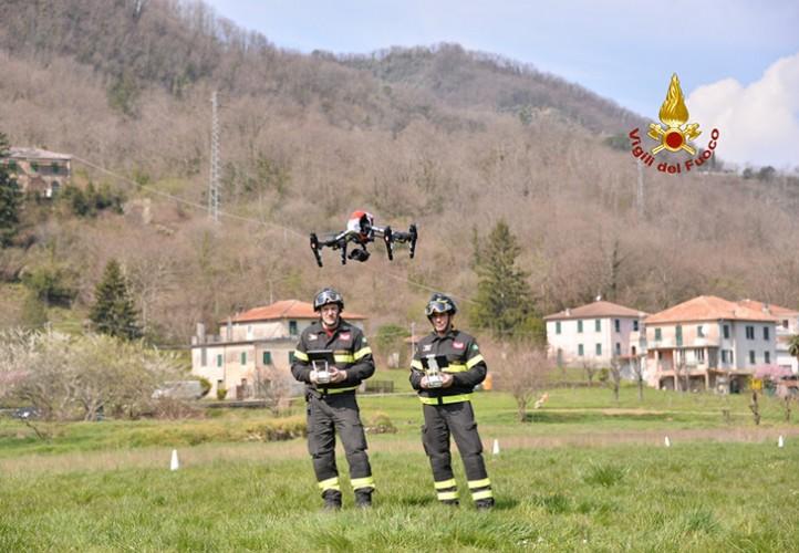 I Droni dei Vigili del fuoco