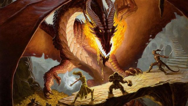 Nuovo libro di dungeons and dragons