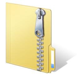 Come aprire file zip