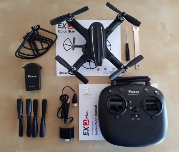 recensione Eachine Ex2 mini unboxing