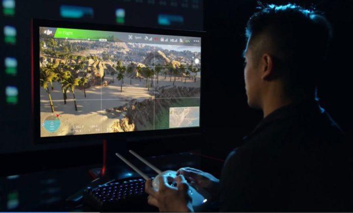DJI Flight Simulator versioni-nuovo simulatore DJI