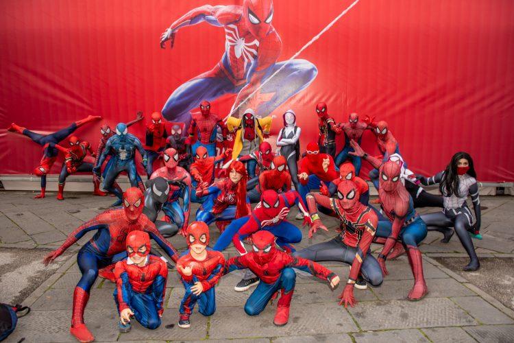 Lucca comics 2018 spider man