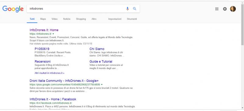 Quale servizio fa parte di Google