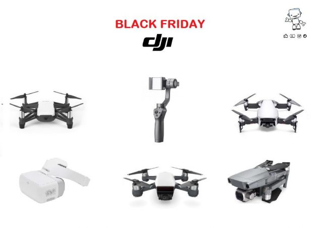 black friday dji 2018 italia