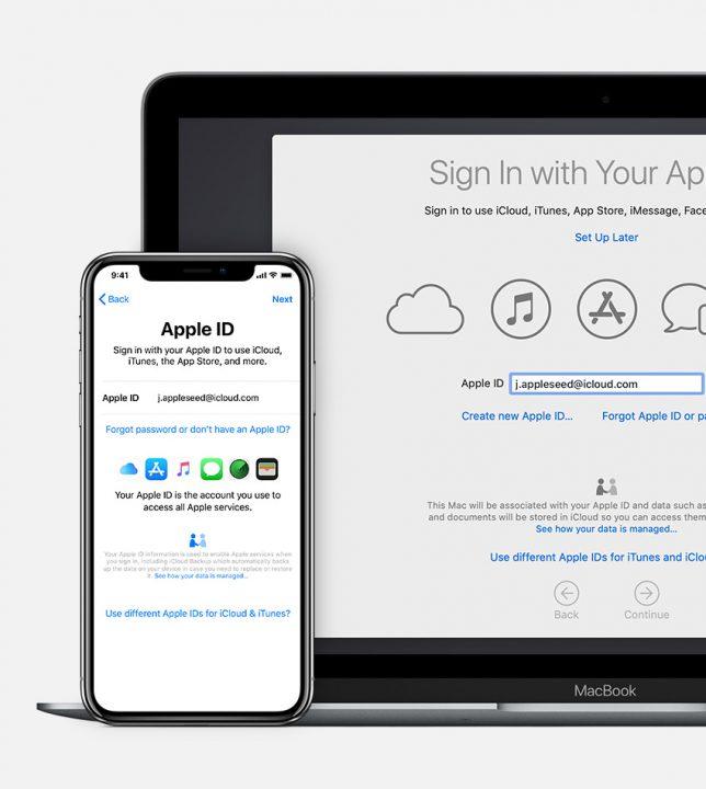 come creare un nuovo id apple
