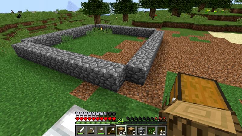 minecraft prima casa